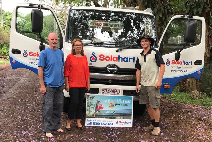 Tamborine Mountain Family Retire An Old Solahart