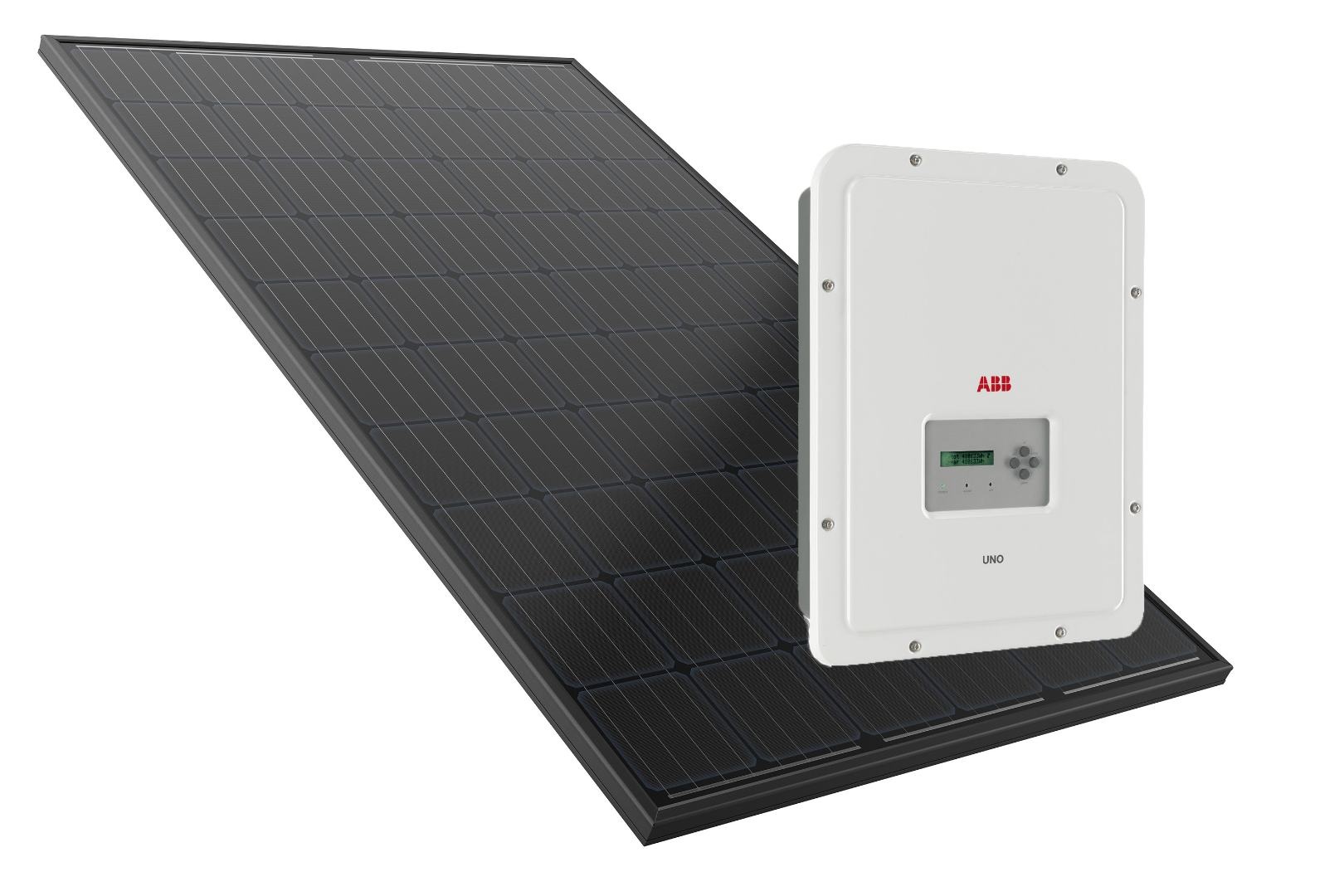 Premium PV systems use REC 280w twin peak panels and ABB Inverters