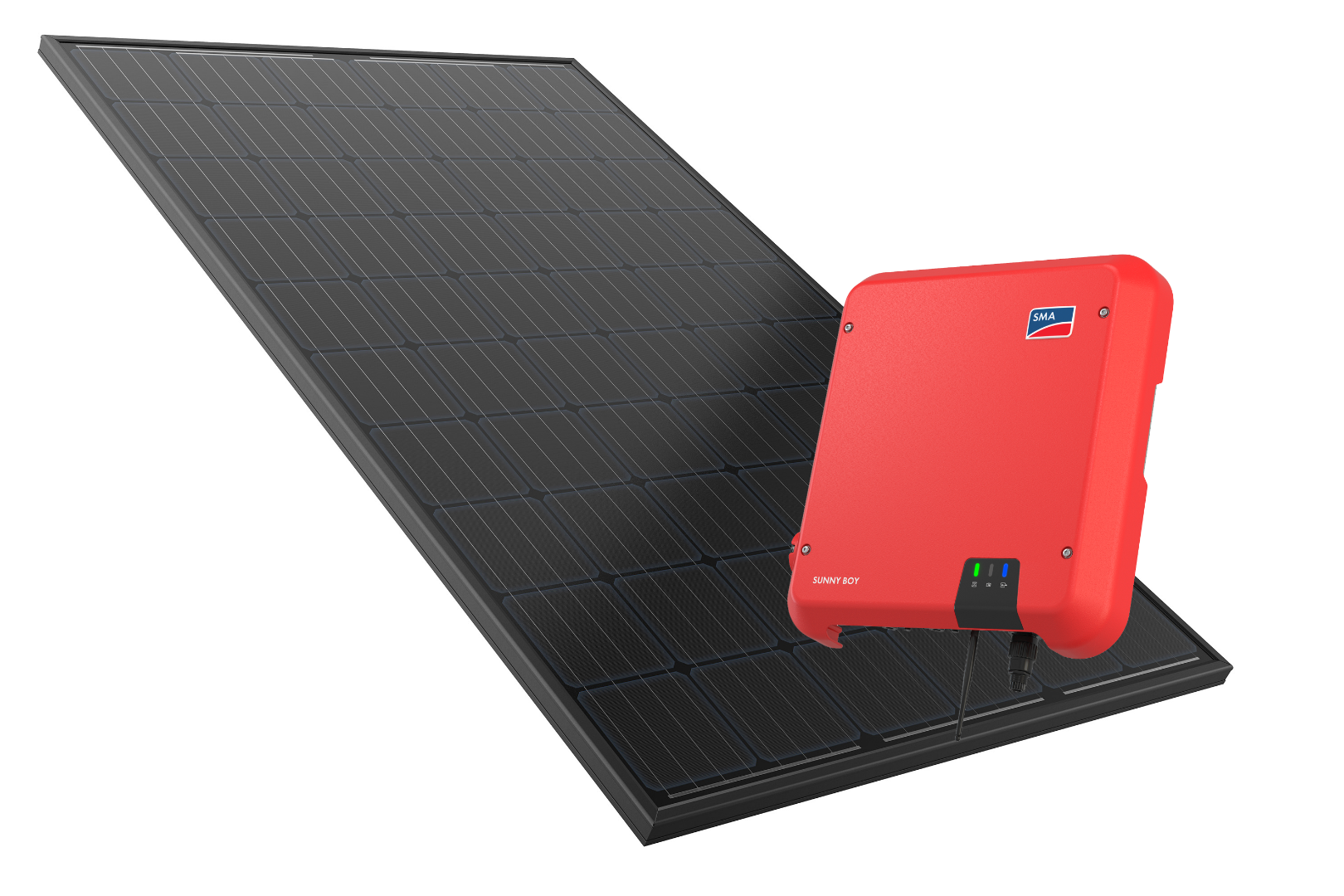 Premium Plus PV systems use REC 280w twin peak panels and SMA Inverters